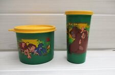 ensemble de 2 boîtes hermétiques tupperware Disney TARZAN
