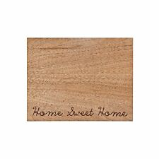 Denby Home Sweet Home Wood Etch Placemats Set of 2