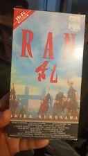 Ran Vhs Rare Oop Htf Akira Kurosawa