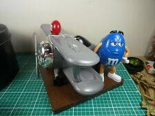 More details for  m&m's m&m mms world airplane plane chocolate candy dispenser, unused.