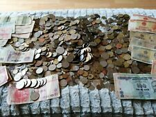 More details for job lot of old / vintage foreign money approx 9 kg collectable notes and coins
