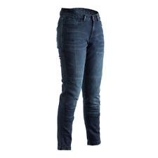 RST 102288 Aramid CE (No Protectors) Ladies Motorcycle Motorbike Jeans - Blue