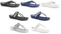 Ladies Sandals Flip Flops Summer Beach Pool Holiday Diamante Shiny UK Sizes 3-8