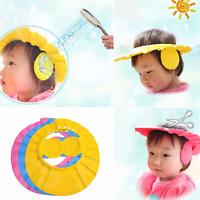 Duschkappe Kids Ohrenschutz Mütze Baby Haare Badekappe Ohrenschutz Waschen Cap