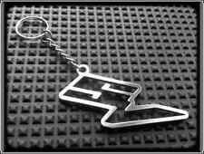 Keyring for SUZUKI SV650 SV1000 SV - Stanless Steel, Hand Made, Chain Key Fob