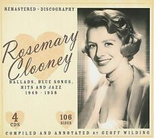 Rosemary Clooney~Ballads, Blue Songs, Hits And Jazz 1949-1958~BRAND NEW 4 CD SET