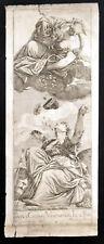PAULUS CALIARY VERONENSIS IN & PINX 1682 Valentin Lefebre ANTIQUE ETCHING #2