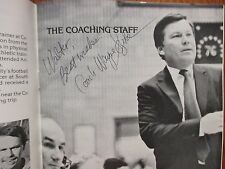 WAYNE  SZOKE  Signed  1985-86 Columbia Men's Basketball Media  Guide(SEAN COUCH)