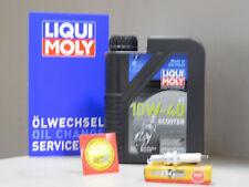 Wartungs Set Honda CH 125 Spacy Öl Zündkerze Service Inspektion