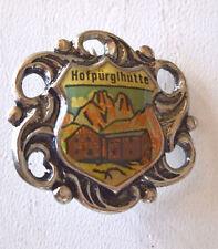 Wanderbrosche Wandernadel Hutschmuck Anstecknadel Souvenir Hofpürgl Hütte