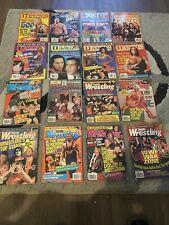 Lot of 33 Wrestling Magazine 1996-2000 WWF WCW ECW