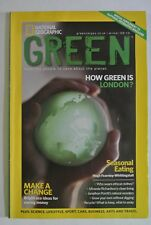 National Geographic Magazine. Green Winter 2009-2010. Inspiring people to care