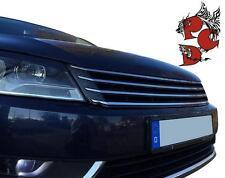 Frontgrill ohne Emblem schwarz chrom VW PASSAT 3C B7 2010-2013 Grill ABS NEU