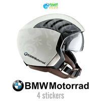 4 Adesivi BMW GS 1200 1250 Motorrad casco  logo stickers vinile moto pegatinas