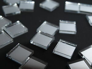 Mirror Art Craft Mosaic Tile Silver Acrylic Square