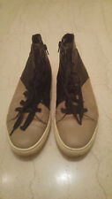 Aldo bi-color size-zip leather sneakers, 42