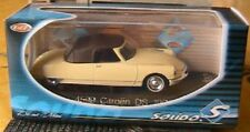 CITROEN DS 1961 DECAPOTABLE SOLIDO 4599 1/43 CABRIOLET CREME CREAM ROADSTER
