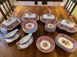 Spode Pink Camilla Dining Set