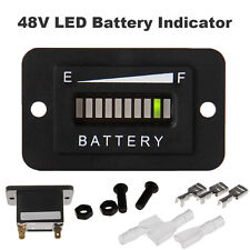 48V LED Battery Indicator Meter Gauge for EZGO Club Car Golf Cart Charge Tester