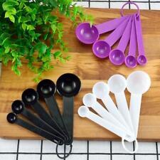 Measuring Spoon Set Plastic Teaspoon Tablespoon Utensil Kitchen M6R4