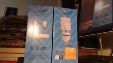 (6) OptoLight JUMBO Fluorescent CFL Bulbs 45W = 200W equivalent Very Bright