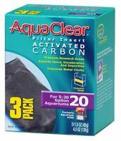 Aquaclear Activated Carbon Insert, 3-Pack 20 Gallon Aquariums