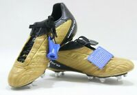 Umbro ZY pro II KTK-SG Football Rugby Boots Gold/Black/White New Size uk7