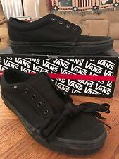 BRAND NEW Men's Vans Authentic Shoes All Black Size 11.0