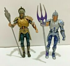 DC Multiverse Aquaman Vs Orm Mattel Gladiator Battle 6.75  2 Figures. Loose
