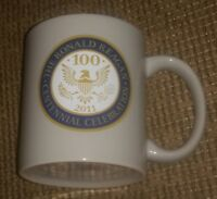 2011 President Ronald Reagan Centennial Celebration 100 Coffee Mug Cup