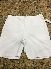 Links Edition Golf Shorts White ladies Size 16 Nwtags
