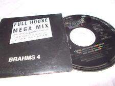 JOHN FARNHAM - FULL HOUSE MEGA MIX 2 TRK PROMO CD - CARD CASE - VERY CLEAN