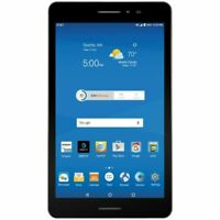 "ZTE Trek 2 HD K88 16GB Wi-Fi AT&T 4G GSM LTE Unlocked 8"" Android Tablet Gray 5MP"