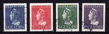 Nederland 346-349  frankeerzegels 1946 Koningin Wilhelmina  mooi gestempeld