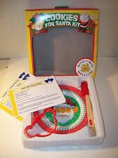 Build A Bear~Cookies For Santa Kit~Plate~Spatula~Cookie Cutter~Recipes~In Box~82