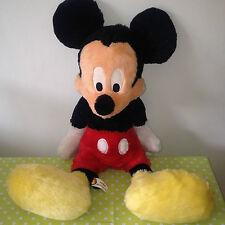 Rare LARGE MICKEY MOUSE Authentic Original Disneyland Walt Disney Soft Toy RETRO
