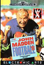 ## SEGA Mega Drive - John Madden Football NFL 93 - TOP / MD Spiel ##