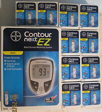 Boxes Bayer Contour Next  Blood Glucose 500 Test Strips and Meter Exp:02/28/2019