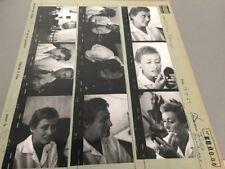 MICHELINE FRANCEY  : PLANCHE CONTACT ORIGINALE DE 1962