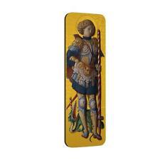 Niue Islands 2014 $5 Carlo Crivelli Icon St. George Gold Gilded 2 Oz Silver Coin