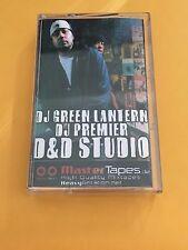 DJ GREEN LANTERN & DJ PREMIER D&D STUDIO NYC 90s Hip Hop Mixtape Cassette