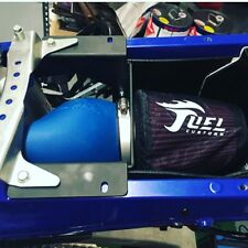 Fuel Customs FCI Intake Kit Air Box Filter KN Kit Blue Yamaha YFZ450R YFZ450X