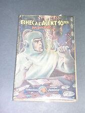 Science fiction Jean Roll Echec à l'agent 10 ter Editions S.T.A.E.L 1948