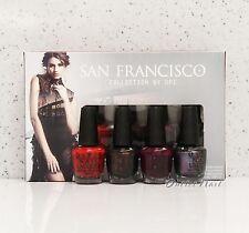 OPI Little Bits of Chic Mini Kit 4pk San Francisco Nail Polish Fall Collection