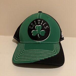 Boston Celtics Adidas NBA Basketball Snapback Hat One Size OSFA Green Black