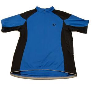 Pearl Izumi Bicycle Jersey Black and Blue Cycling Ultra Sensor Large