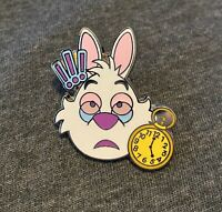 Disney's Alice In Wonderland White Rabbit Emoji Pin
