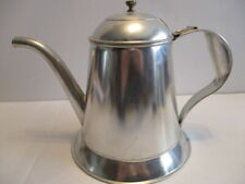 Craft Ready to Paint Tin Toleware Tea Pot Handcrafted by Robert Faulkner