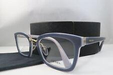 Prada VPR 09S UEE-1O1 Blue/Grey New Authentic Eyeglasses 53mm w/Case