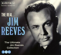 Jim Reeves : The Real... Jim Reeves CD 3 discs (2013) ***NEW*** Amazing Value